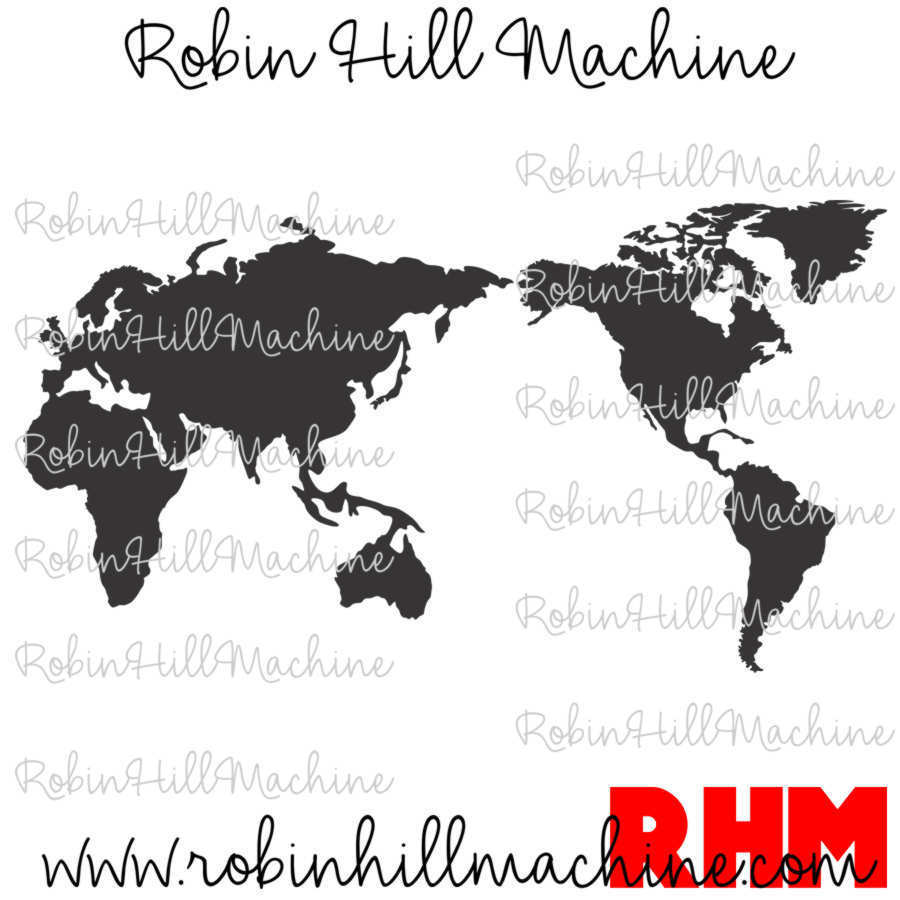 World map dxf robin hill machine world map dxf gumiabroncs Choice Image