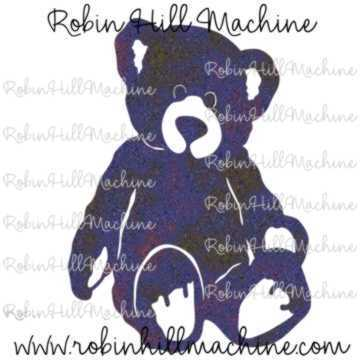 Teddy Bear DXF