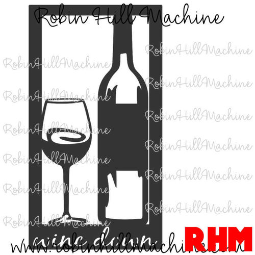 Wine Down DXF
