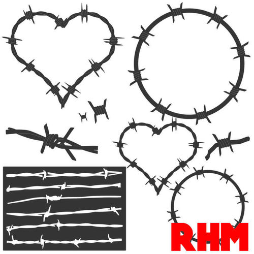 Barbed Wire DXF