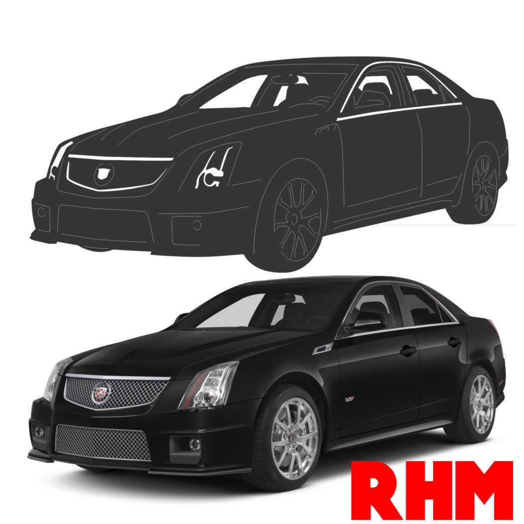 2012 Cadillac Cts V Reviews And Rating: Cadillac CTS 2012 Sedan Car DXF