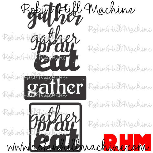 Gather Set DXF