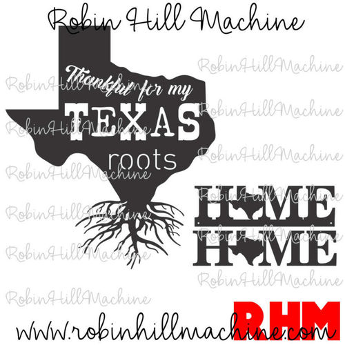 Texas Roots DXF
