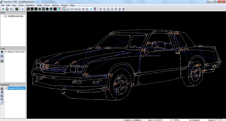 1984 Monte Carlo DXF - Robin Hill Machine