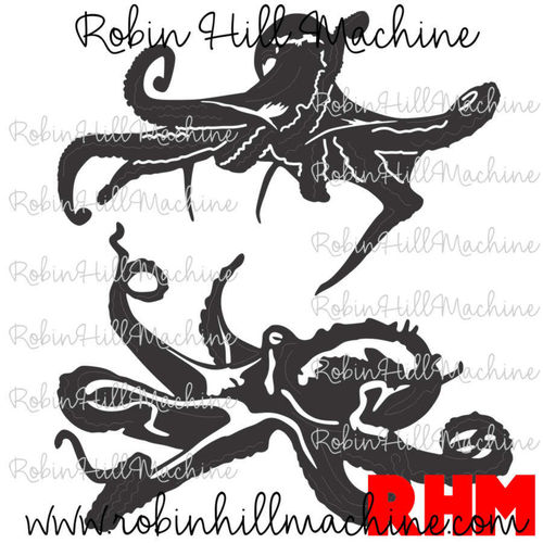 Octopus DXF for CNC plasma cutting
