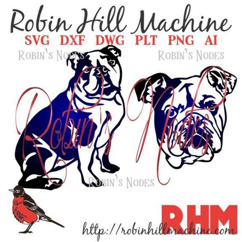 English Bulldog SVG Set