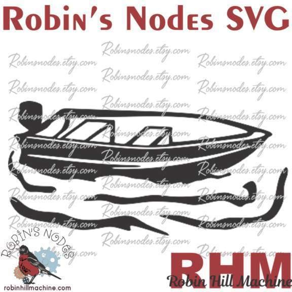 Download Robin Hill Machine Fishing Boat Svg