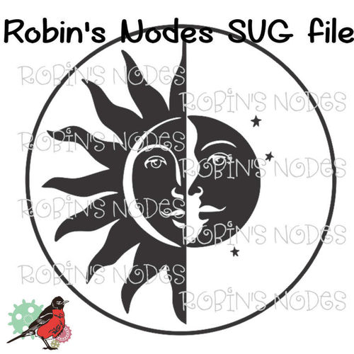 Sun and Moon 2 SVG